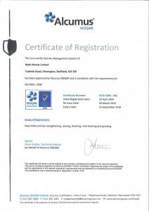 BML ISO CERT-1