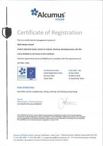 BML ISO CERT-2